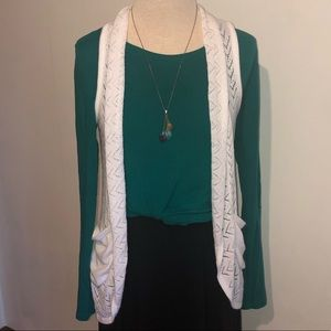 Maurices Open Front Sweater Vest With Pockets